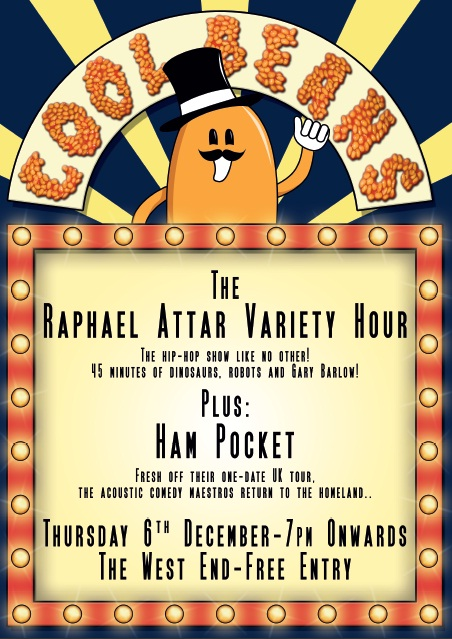 Cool Beans Presents: The Raphael Attar Variety Hour