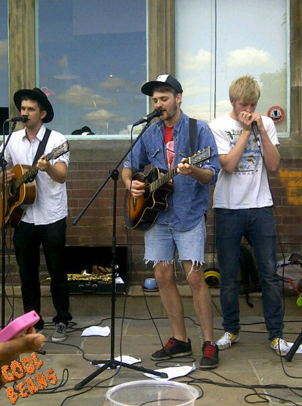 A youthful looking Ham Pocket at Tramlines 2011.