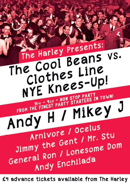 Cool Beans vs. Clothes Line NYE