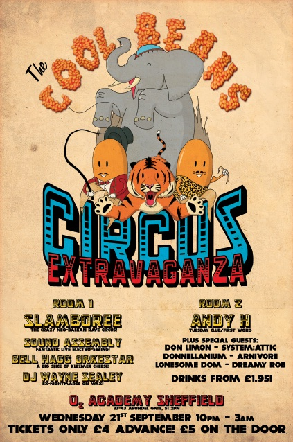 The Cool Beans Circus Extravaganza