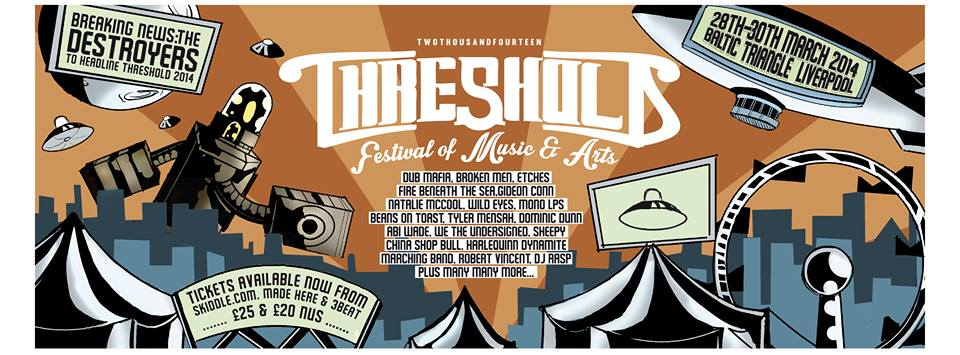 Cool Beans & Antipop Records Join Forces for Threshold Festival!